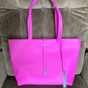 Vince Camuto Small Leila Tote in Pink Orchid